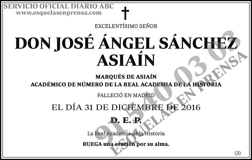 José Ángel Sánchez Asiaín